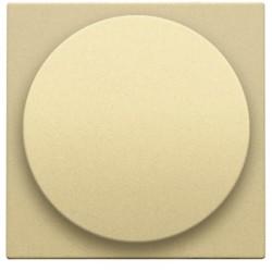 Afwerkingsset voor draaiknopdimmer of extensie, incl. draaiknop, alu gold coated  Niko