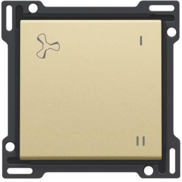Afwerkingsset voor mechanisch gecontroleerde ventilatiebediening, gold coated