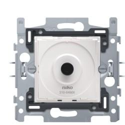 Sokkel voor draaiknopdimmer voor ledlampen 4 - 200 W, 2-draads, klauwbevestiging  Niko