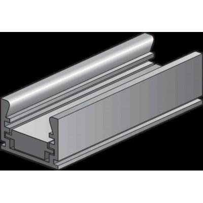 Aluminium profiel met verstelbare hoogte, 2 m  Niko