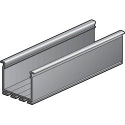 Breed architecturaal aluminium profiel, 2 m  Niko