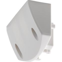 Montagebeugel voor buitenbewegingsmelder (White)  Niko