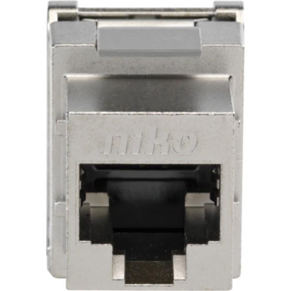 Afgeschermde RJ45-connector cat. 5E voor bandbreedtes tot 100MHz