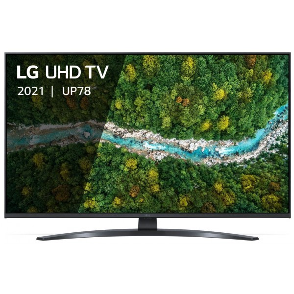 LG Televisie Smart TV 4K 55UP78006LB