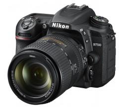 D7500 Zwart + AF-S DX Nikkor 18-300 VR Nikon