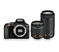 D3500 + AF-P DX 18-55mm VR + AF-P DX 70-300mm VR Nikon