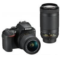 D5600 + AF-P 18-55 VR + AF-P 70-300 VR 16GB + Bag