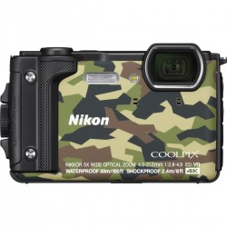 Coolpix W300 camouflage + WP Bag
