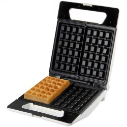 DO9052W Wafelijzer Brusselse wafels 4x6 Domo