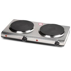 DO311KP Kookplaat 2 pits inox 1500-1500 Watt