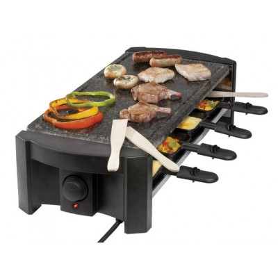 DO9039G Steengrill, gourmet & grill 8P Domo