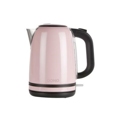 DO487WK Waterkoker pastel roze 1,7L Domo