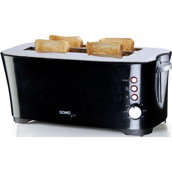 Domo Broodroosters DO961T Broodrooster B-Smart Zwart