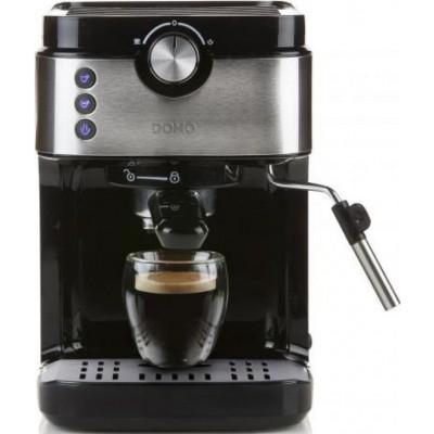 Espresso 19bar zwart/inox DO711K Domo