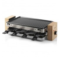 Raclette grill 8p