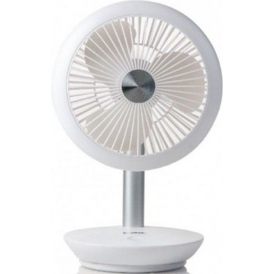 DO8147 Ventilator herlaadbaar  Domo