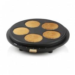 Pannenkoekenmaker met 2 afneembare platen  Domo