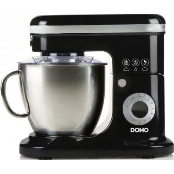 Domo Keukenrobot DO1023KR Zwart, 6L, 1200W