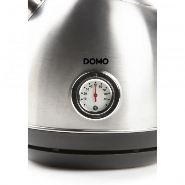 Domo Waterkoker DO9230WK retro, inox 1,7L