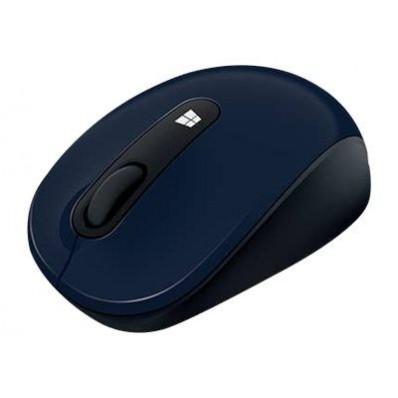 Sculpt Mobile Mouse Zwart/Blauw