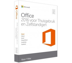Office Home and Business 2016 NL MAC Microsoft