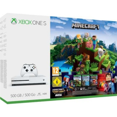 Xbox One S Minecraft Console 500GB  Microsoft