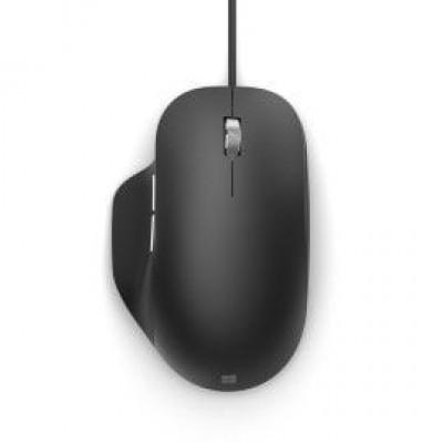 Ergonomic Mouse Wired Zwart  Microsoft