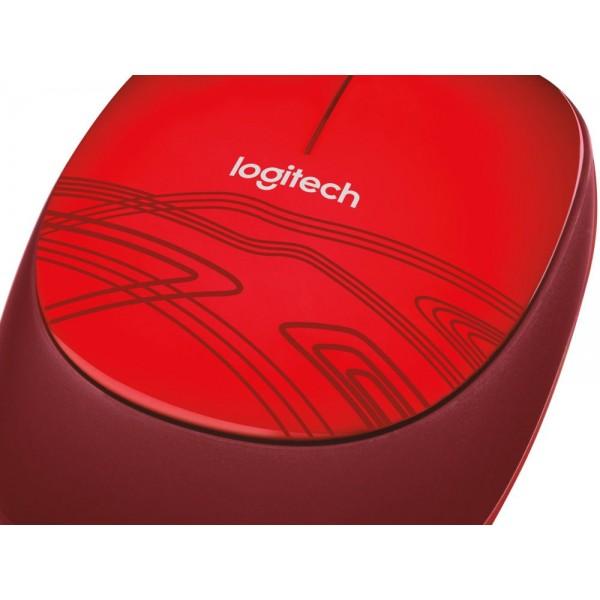 Logitech Computermuis M105 Red