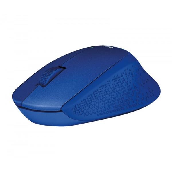 Logitech M330 Silent Plus Blauw