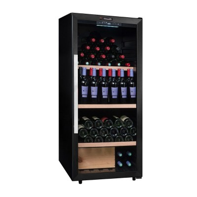 PCLV160 Cave polyvalente porte vitrée 160 bouteilles Climadiff