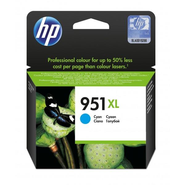 HP Inktpatronen HP 951xl inktcartridge cyaan