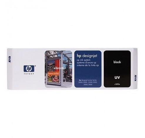 HP Designjet CP Ink System UV - zwart - printkop met cartridge en krimpkous  HP
