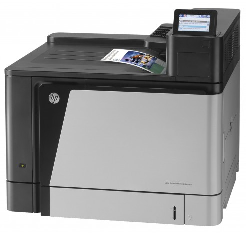 Color LaserJet Enterprise M855dn printer  HP
