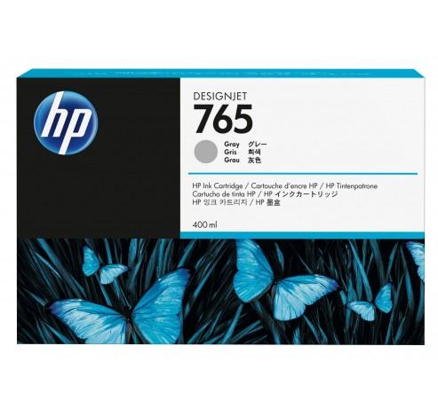 HP 765 - grijs - origineel - inktcartridge  HP