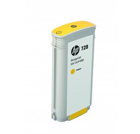 HP 728 - inktgeel - origineel - DesignJet - inktcartridge  HP