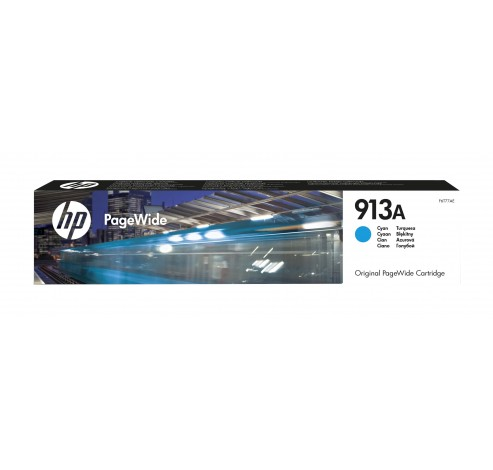 HP 913A - cyaan - origineel - PageWide - inktcartridge  HP