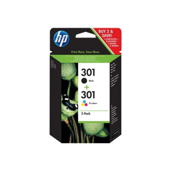 HP Inktpatronen HP 301 inktcartridge 2-PACK