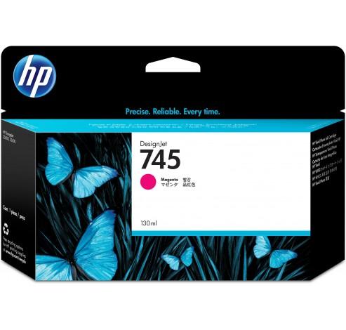 HP 745 - magenta - origineel - DesignJet - inktcartridge  HP