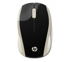 200 silk gold wireless mouse HP