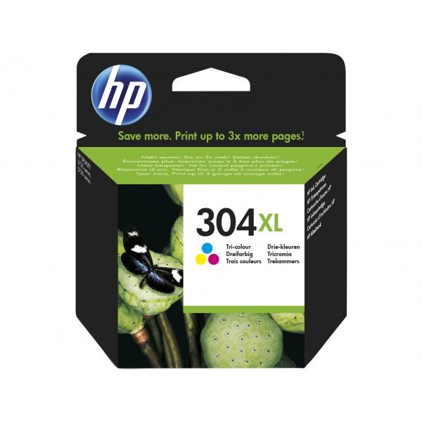 HP Inktpatronen 304XL Tri-Color