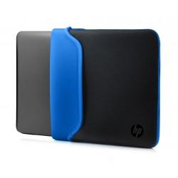 "Notebook Sleeve 15.6"" Zwart/Blauw"