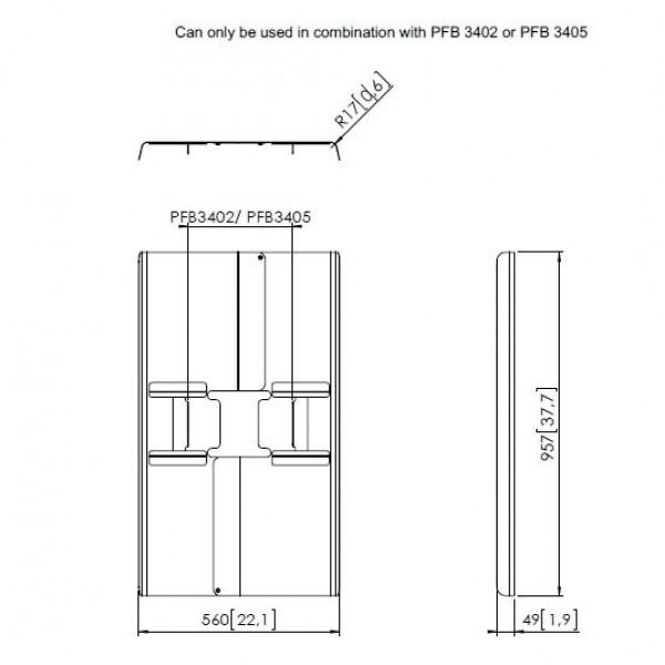 Vogels Flatscreensteun accessoires PFA 9120