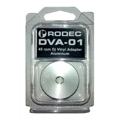 DJ Vinyl Adapter - 45 rpm Dj Vinyl Adapter Aluminium  Rodec