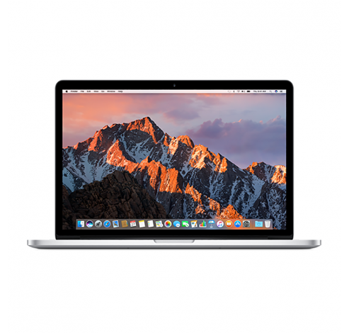 15-inch MacBook Pro: 2.2GHz quad-core i7, 256GB - Zilver Apple
