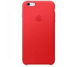 Leren hoesje voor iPhone 6 Plus/6s Plus - (PRODUCT)RED Apple