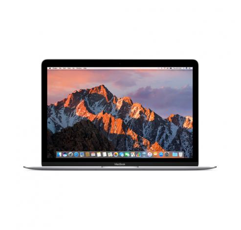 12-inch MacBook 1.2GHz Intel Core m3 256GB - Silver - Qwertz  Apple
