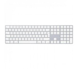 Magic Keyboard met numeriek toetsenblok - Frans - Zilver Apple