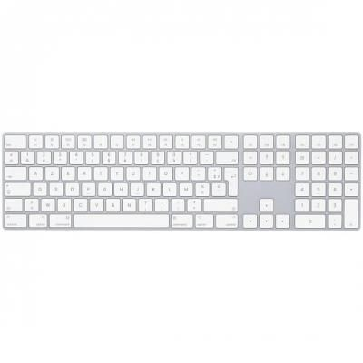 Magic Keyboard met numeriek toetsenblok - Nederlands - Zilver Apple