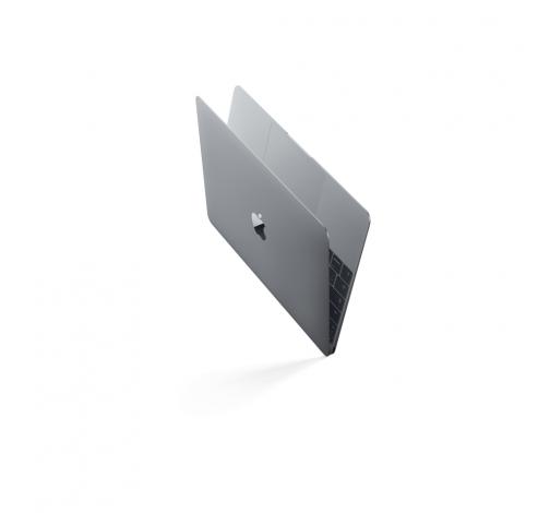 12-inch MacBook 1.2GHz Intel Core m3 256GB - Spacegrijs - Qwerty  Apple