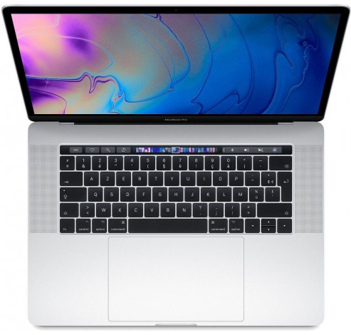 15-inch MacBook Pro Touch Bar: 2.6GHz 6-core i7, 512GB - Zilver (2018)  Apple